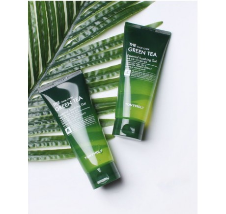 Маски для лица Гель Tony Moly The Chok Chok Green Tea Essential Soothing Gel, 200мл. фото, 310 грн
